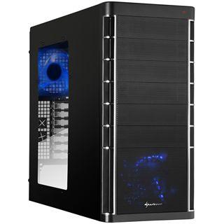 Sharkoon Rebel9 Pro Window Midi Tower ohne Netzteil schwarz