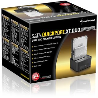 Sharkoon SATA Quickport XT Duo USB 3.0 Dockingstation für