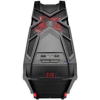 AeroCool Strike-X Advance Midi Tower ohne Netzteil schwarz