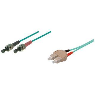 (€9,90*/1m) 1.00m Good Connections LWL Duplex Patchkabel 50/125