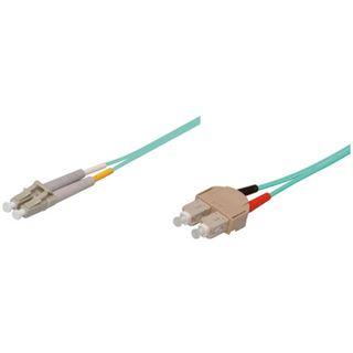 (€2,58*/1m) 5.00m Good Connections LWL Duplex Patchkabel 50/125