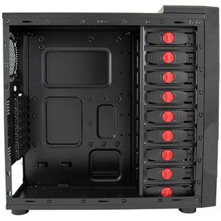 LC-Power PRO-916BII Midi Tower ohne Netzteil schwarz