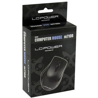 LC-Power M710B USB schwarz (kabelgebunden)