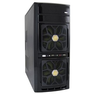 LC-Power 7032B Midi Tower 420 Watt schwarz