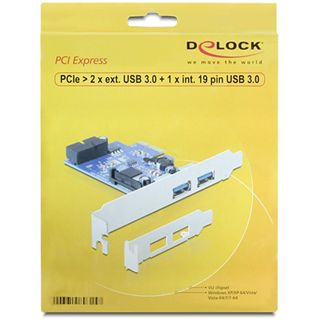 Delock 89315 3 Port PCIe x1 retail