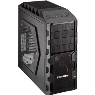 Xilence Black Hornet USB3.0 Midi Tower ohne Netzteil schwarz