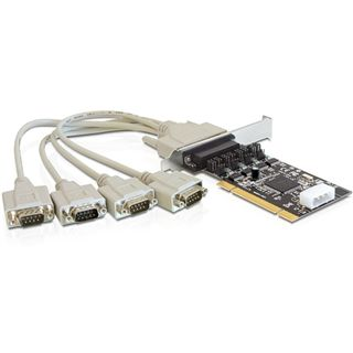 Delock 89304 4 Port PCI retail