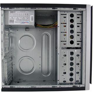 LC-Power 608B Midi Tower 420 Watt schwarz/grau