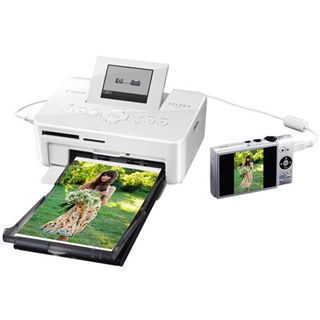 Canon Selphy CP810 weiß Thermotransfer Drucken USB 2.0