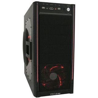 LC-Power PRO-920R Veritas Midi Tower ohne Netzteil schwarz