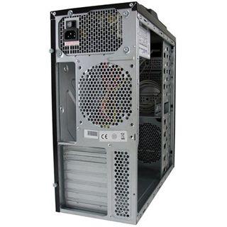 LC-Power 7000B Midi Tower 420 Watt schwarz