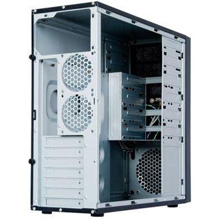Chieftec CQ-01B Midi Tower ohne Netzteil schwarz