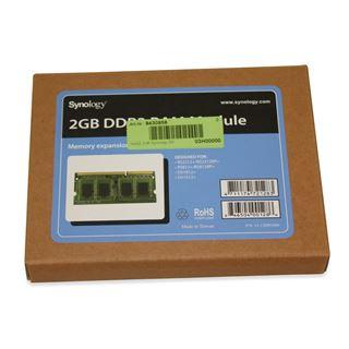 Synology Arbeitsspeicher 2GB DDR3 für DiskStation DS1512+,