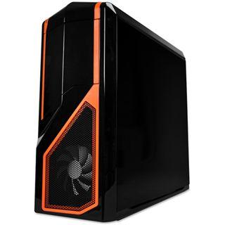 NZXT Phantom 410 Midi Tower ohne Netzteil schwarz/orange