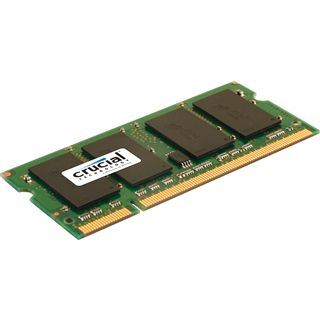 1GB Crucial Value DDR2-667 SO-DIMM CL5 Single