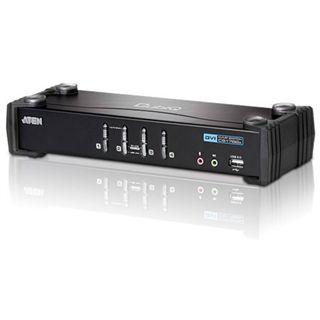 ATEN Technology CS1764 4-fach Desktop KVM-Switch