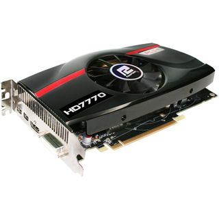 1GB PowerColor Radeon HD 7770 PCS+ Aktiv PCIe 3.0 x16 (Retail)