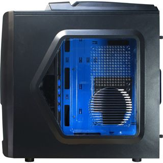 Inter-Tech A6 Confident-RTX USB3.0 mit Sichtfenster Midi Tower ohne