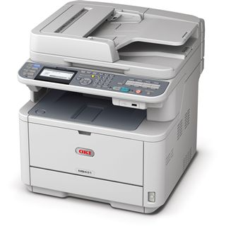 OKI MB451w S/W Laser Drucken/Scannen/Kopieren/Faxen LAN/USB 2.0/WLAN