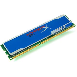 8GB Kingston HyperX blu. DDR3-1600 DIMM CL10 Single