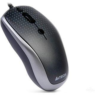 A4tech D-530FX DustFree USB silber (kabelgebunden)