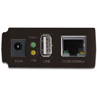 Digitus Gigabit NAS Server Netzwerkadapter für USB