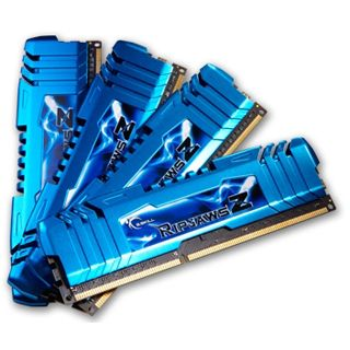 16GB G.Skill RipJawsZ DDR3-1866 DIMM CL8 Quad Kit