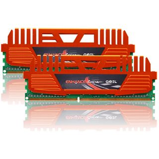 8GB GeIL Enhance Corsa DDR3-1600 DIMM CL9 Dual Kit
