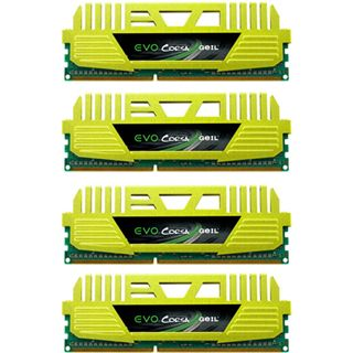 32GB GeIL EVO Corsa DDR3-1600 DIMM CL9 Quad Kit