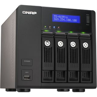 QNAP Turbo Station TS-469 Pro ohne Festplatten