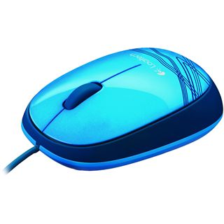 Logitech M105 USB blau (kabelgebunden)