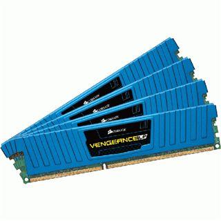 16GB Corsair Vengeance LP blau DDR3-1866 DIMM CL9 Quad Kit