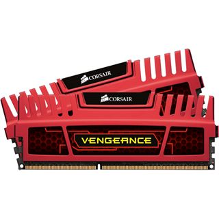 16GB Corsair Vengeance rot DDR3-1600 DIMM CL10 Dual Kit