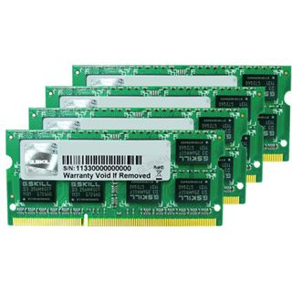 16GB G.Skill Mac Memory DDR3-1333 SO-DIMM CL9 Quad Kit