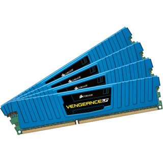 16GB Corsair Vengeance LP Blue DDR3-2133 DIMM CL11 Quad Kit