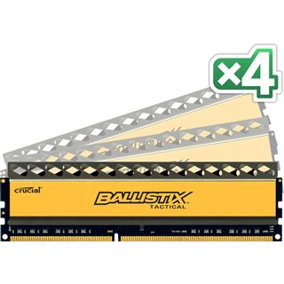 32GB Crucial Ballistix Tactical DDR3-1600 DIMM CL8 Quad Kit
