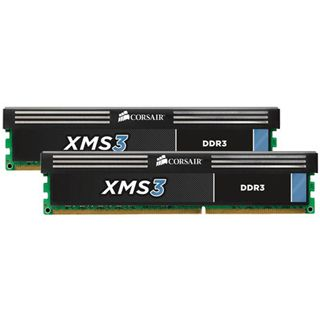 8GB Corsair XMS3 DDR3-1600 DIMM CL11 Dual Kit