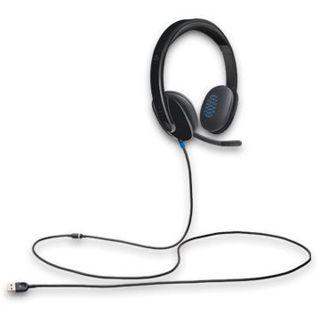 Logitech USB Headset H540 schwarz