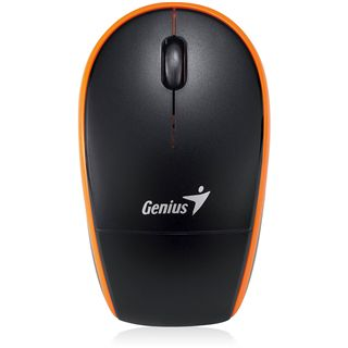 Genius Traveler 9000 USB schwarz/orange (kabellos)