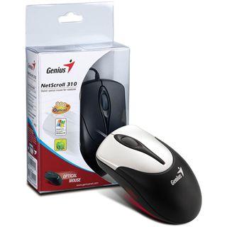 Genius NetScroll 310 USB silber (kabelgebunden)