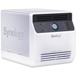 Synology DiskStation DS413j ohne Festplatten