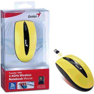 Genius Traveler 7000 USB gelb (kabellos)