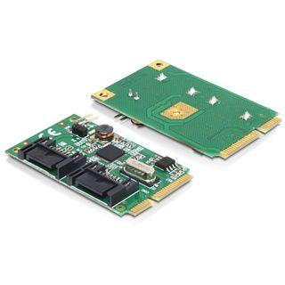Delock 95233 2 Port PCIe 2.0 Mini Card retail