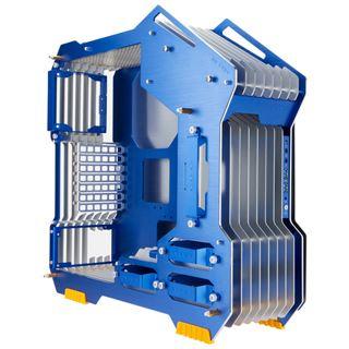 IN WIN H-Frame Midi Tower ohne Netzteil silber/blau