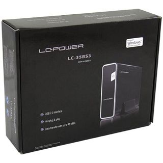 "LC-Power LC-35BS3 3.5"" (8,89cm) USB 2.0 schwarz"