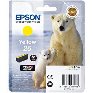 Epson Tinte C13T26144010 gelb