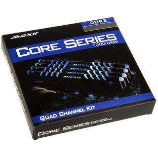 8GB Avexir Core Series blaue LED DDR3-1866 DIMM CL9 Dual Kit