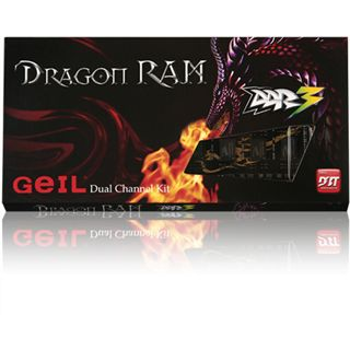 16GB GeIL Black Dragon DDR3-1600 DIMM CL11 Dual Kit