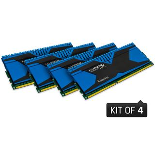 32GB Kingston HyperX Predator DDR3-1600 DIMM CL9 Quad Kit