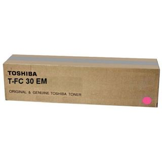 Toshiba Toner T-FC30EM (6AJ00000097) Magenta VE 1 Stück für